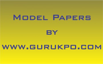 model papers 2